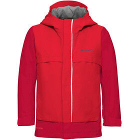 VAUDE Kids Racoon V Jacket indian red
